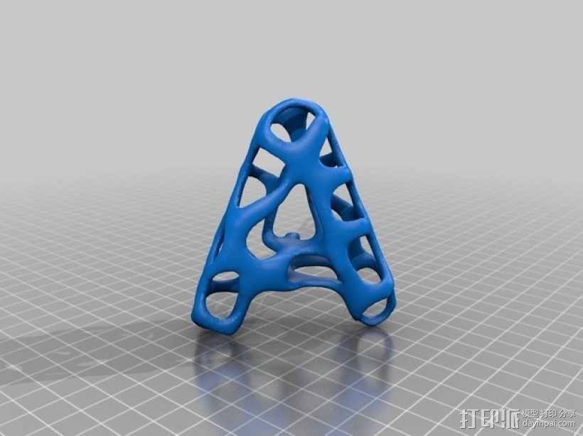 字母表 字母模型 3D模型  图2