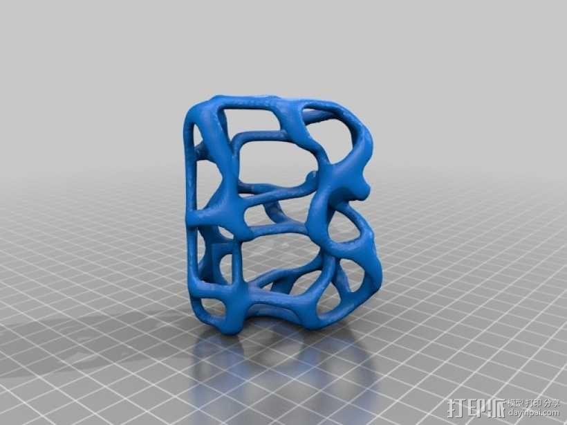 字母表 字母模型 3D模型  图3