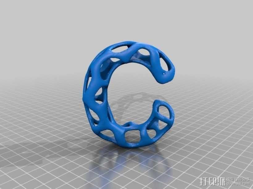 字母表 字母模型 3D模型  图4