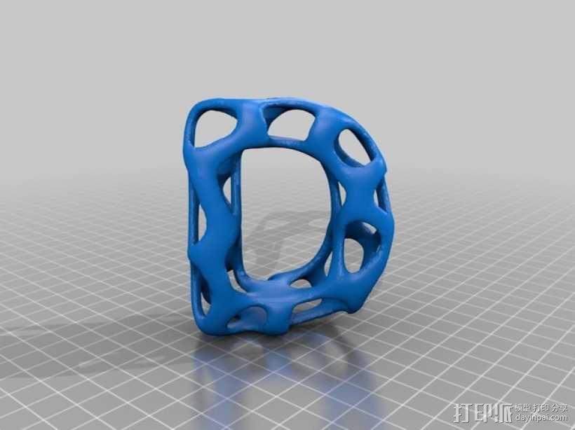 字母表 字母模型 3D模型  图5