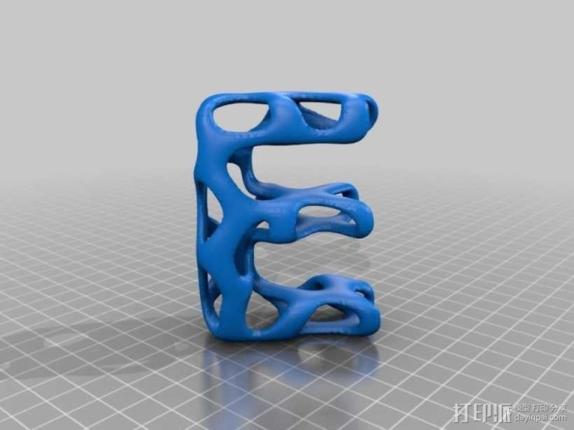 字母表 字母模型 3D模型  图6