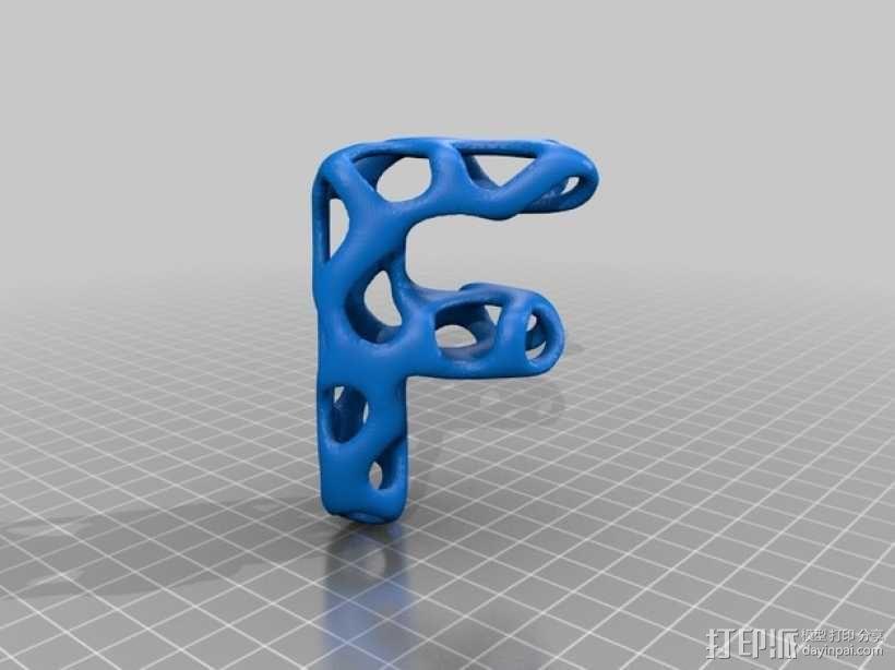 字母表 字母模型 3D模型  图7