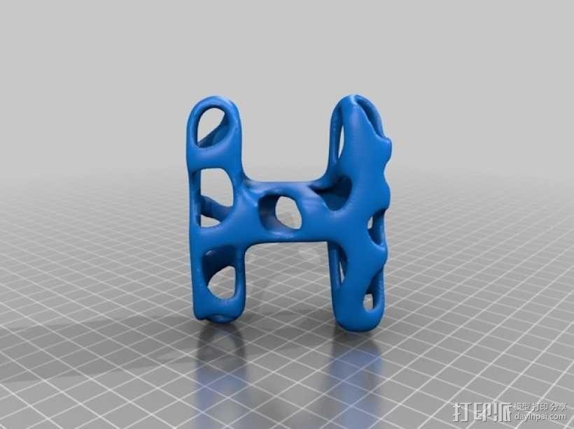字母表 字母模型 3D模型  图9