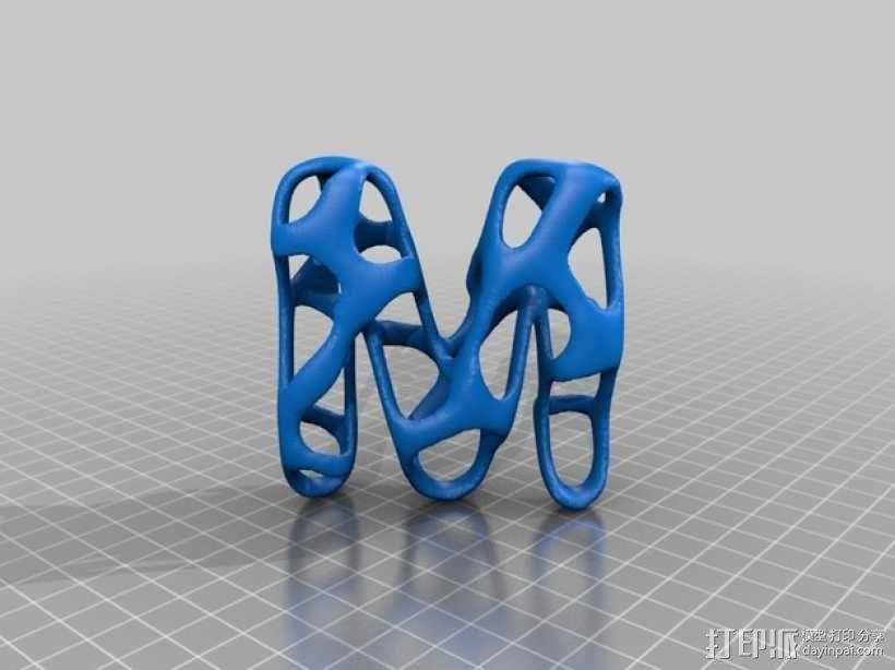 字母表 字母模型 3D模型  图14
