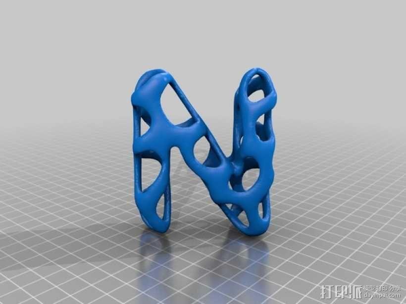 字母表 字母模型 3D模型  图15
