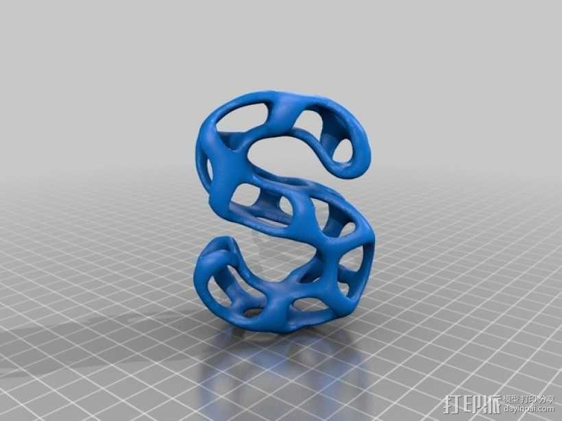 字母表 字母模型 3D模型  图20