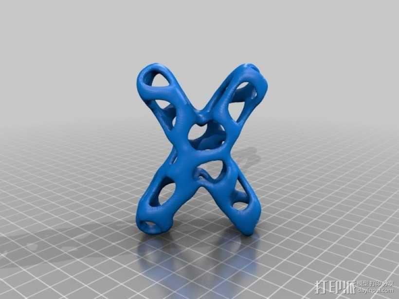 字母表 字母模型 3D模型  图25