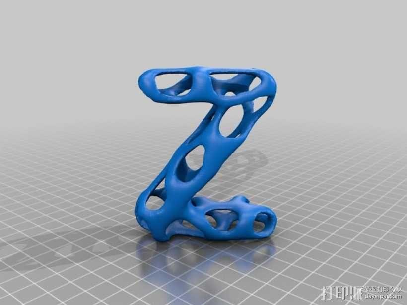 字母表 字母模型 3D模型  图27