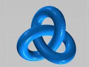 圆环结 3D模型