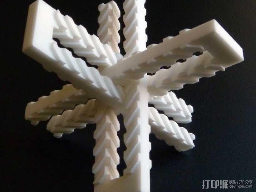 齿形夹 3D模型  图1