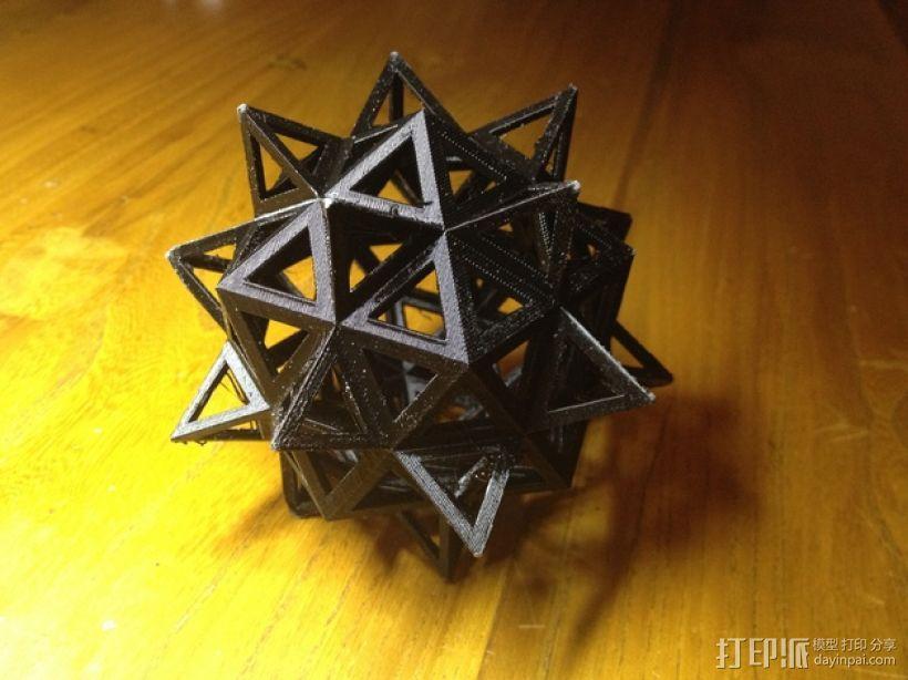 达芬奇多面体 3D模型  图1