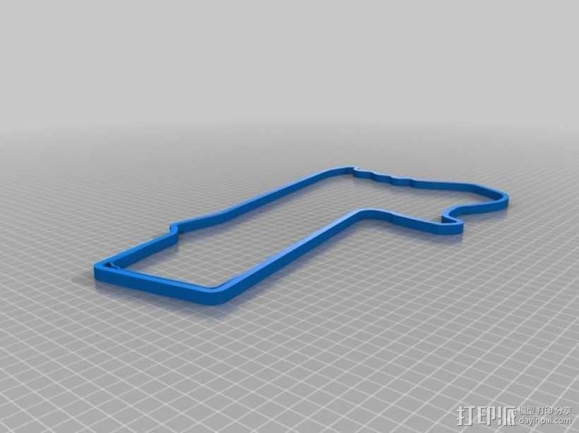 赛道 曲线模型 3D模型  图11
