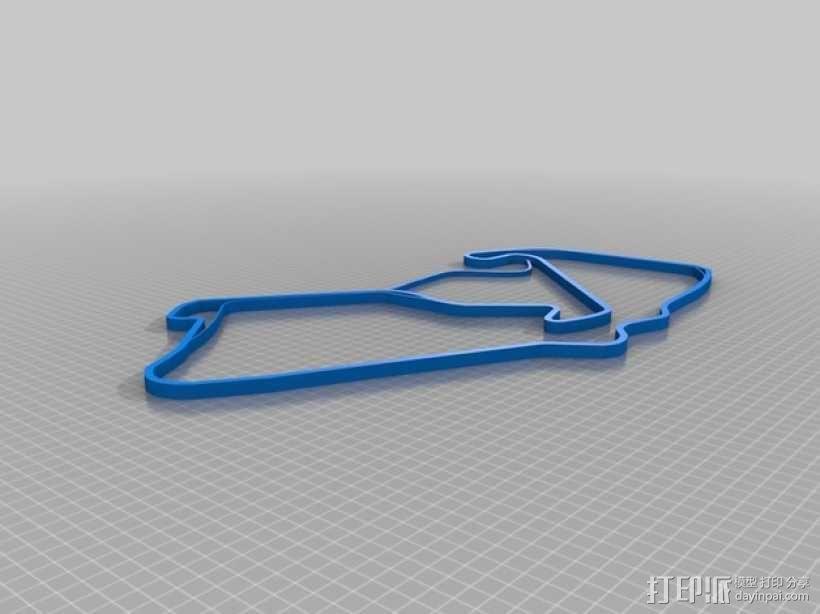 赛道 曲线模型 3D模型  图21