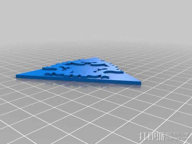 猫咪拼贴 3D模型  图2