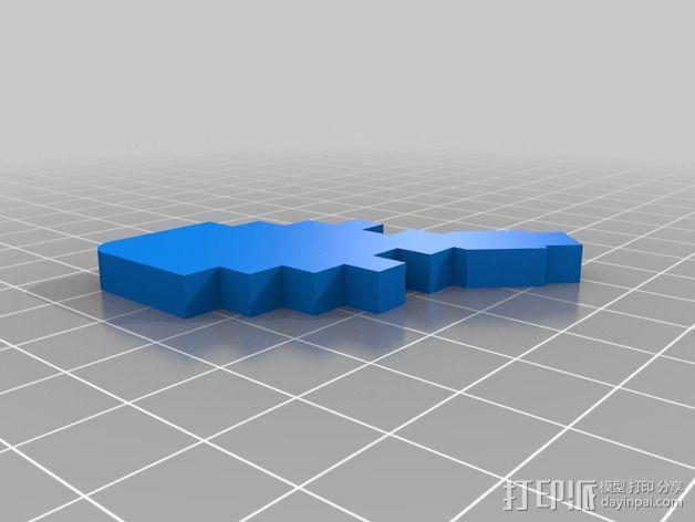文具盒 3D模型  图7