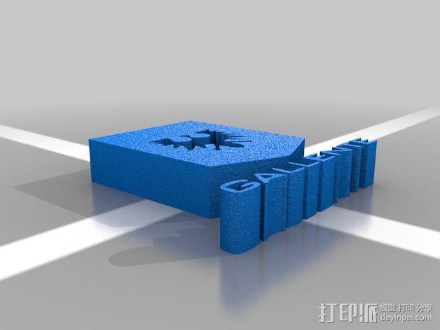 星战前夜 派系标志 3D模型  图4