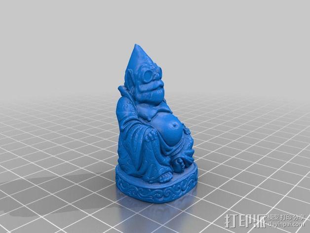 侏儒大佛 3D模型  图2