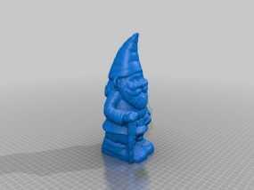 小矮人奶奶模型 3D模型