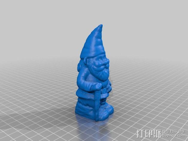 小矮人奶奶模型 3D模型  图2