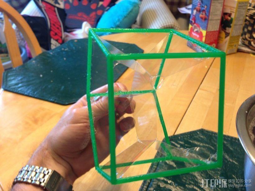 线性结构几何体 3D模型  图3