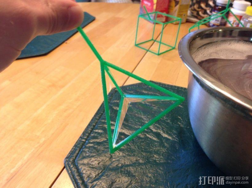 线性结构几何体 3D模型  图4