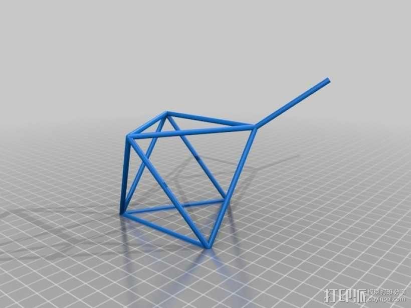 线性结构几何体 3D模型  图9