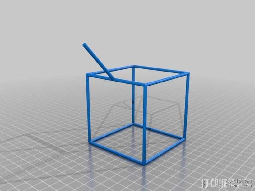 线性结构几何体 3D模型  图11