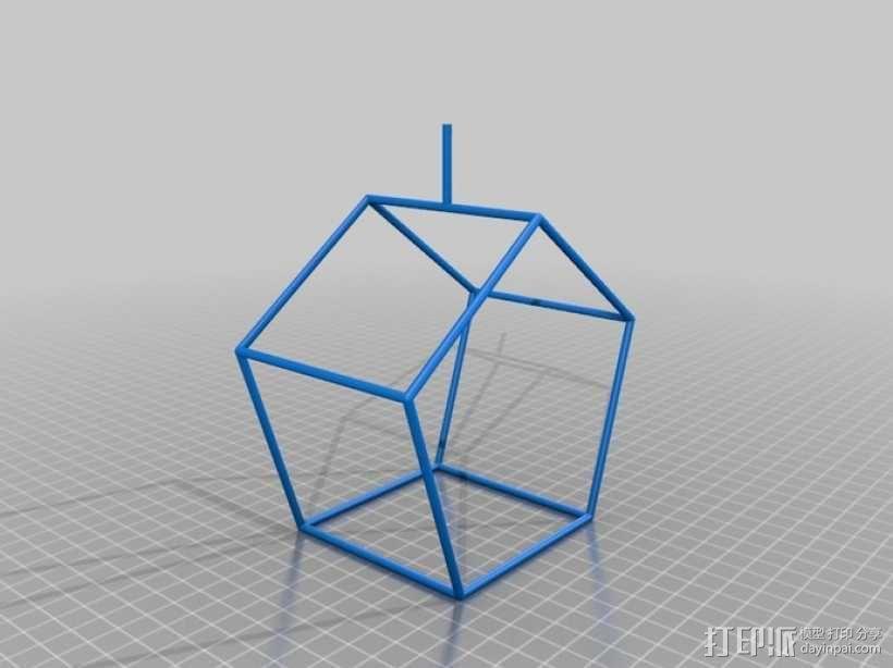 线性结构几何体 3D模型  图12