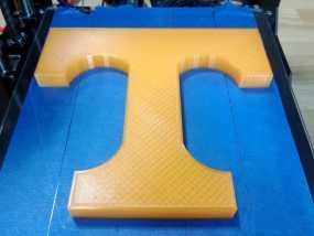 T字标志 3D模型