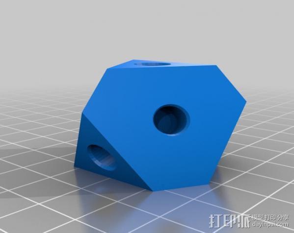 警察亭形齿轮 3D模型  图3
