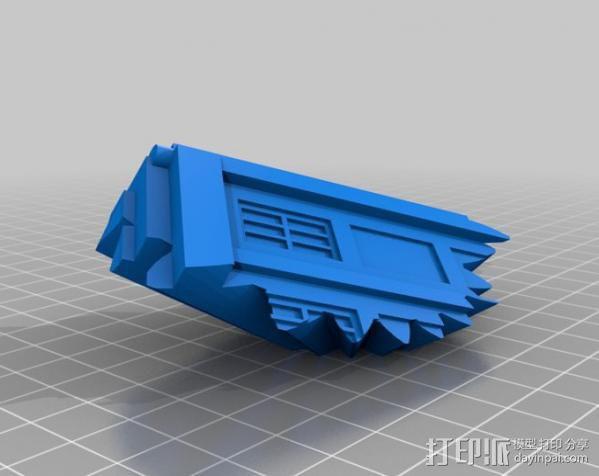 警察亭形齿轮 3D模型  图9