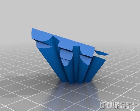 警察亭形齿轮 3D模型  图10