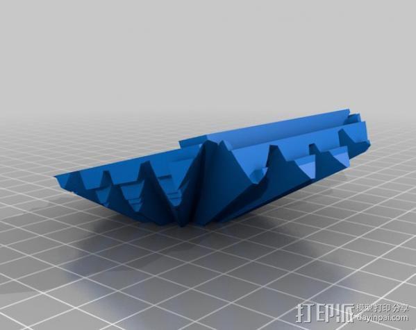 警察亭形齿轮 3D模型  图11