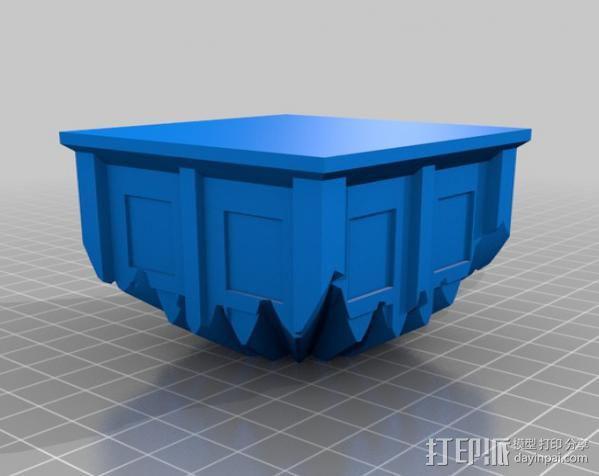 警察亭形齿轮 3D模型  图14