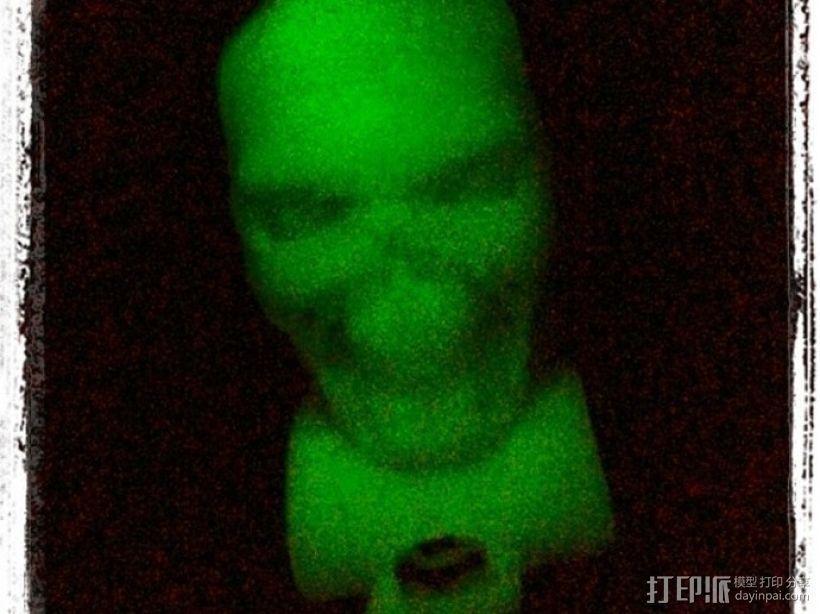 终结者骷髅头模型 3D模型  图2