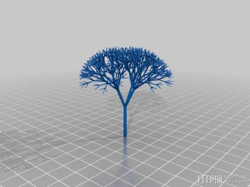 递归树 3D模型  图2