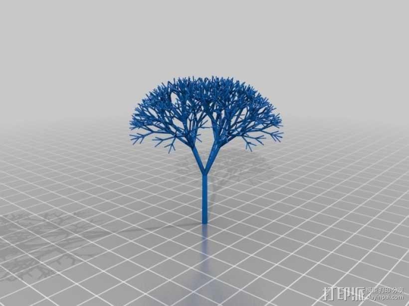 递归树 3D模型  图3
