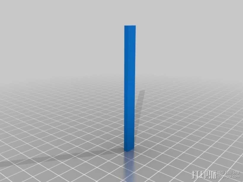 权利的游戏史塔克家族徽章笔筒 3D模型  图5