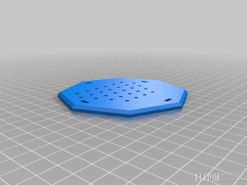 权利的游戏史塔克家族徽章笔筒 3D模型  图7