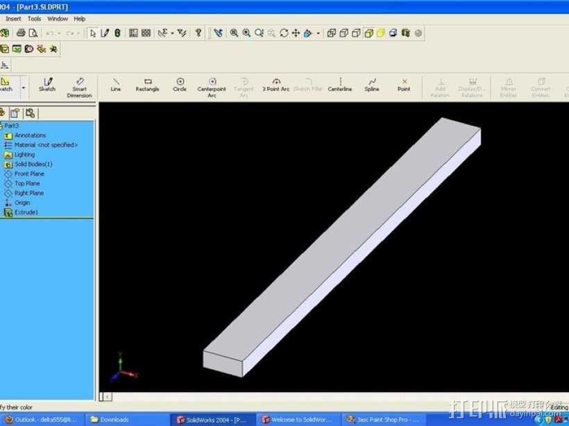 权利的游戏史塔克家族徽章笔筒 3D模型  图10