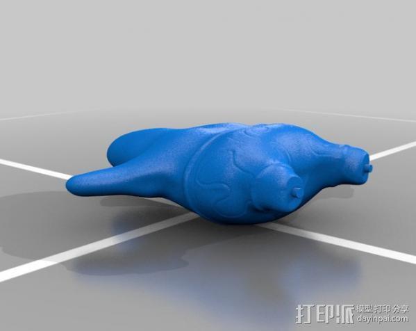 派大星 3D模型  图4