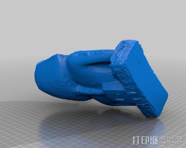图特卡蒙 3D模型  图2