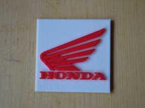 本田摩托车标志 3D模型