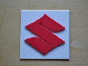 铃木Logo 3D模型