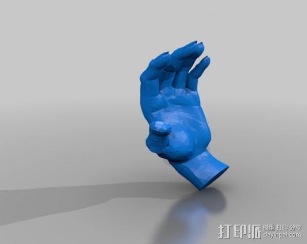 手模型 3D模型  图2
