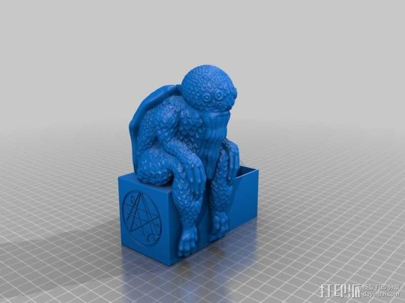克苏鲁盒子  3D模型  图2