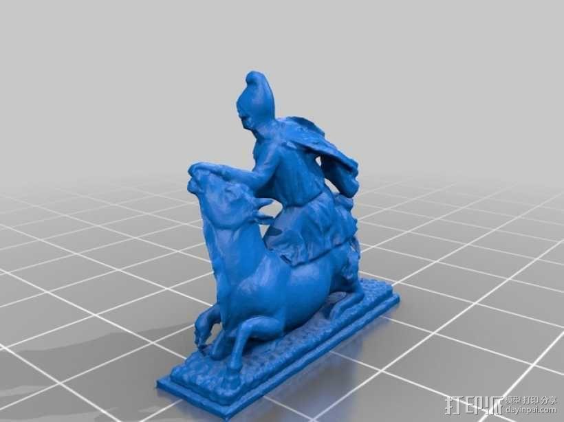 罗马雕塑模型 3D模型  图2