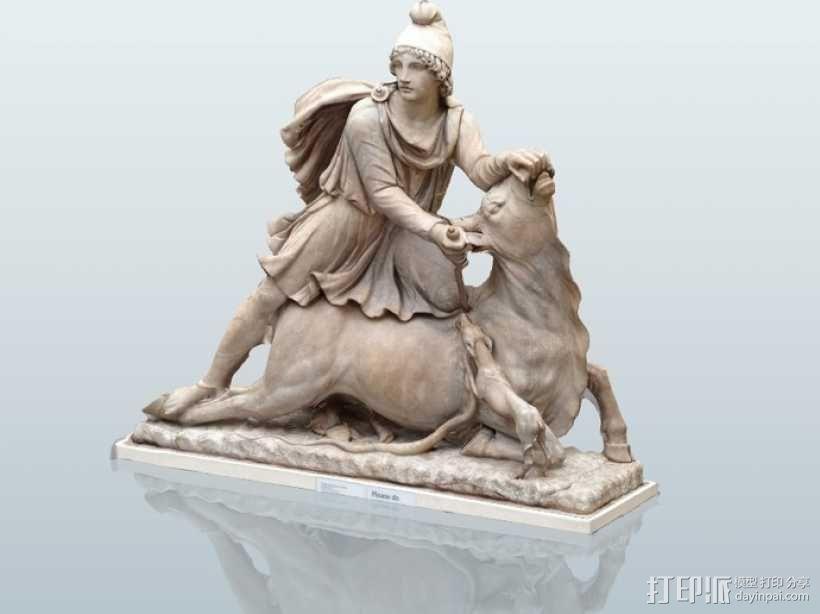 罗马雕塑模型 3D模型  图1
