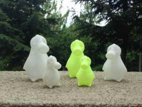 企鹅模型 3D模型