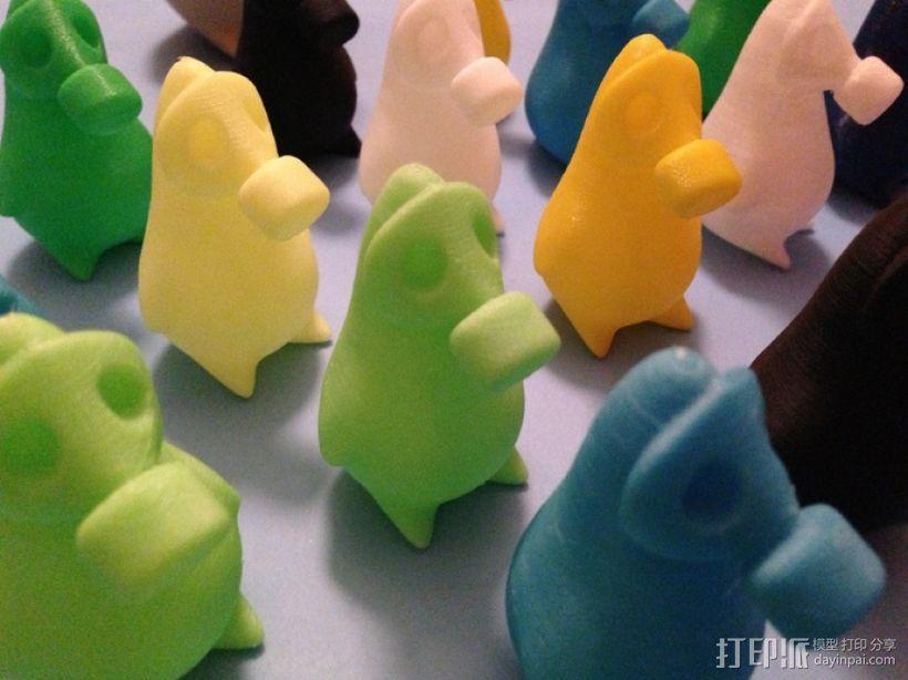 企鹅模型 3D模型  图5